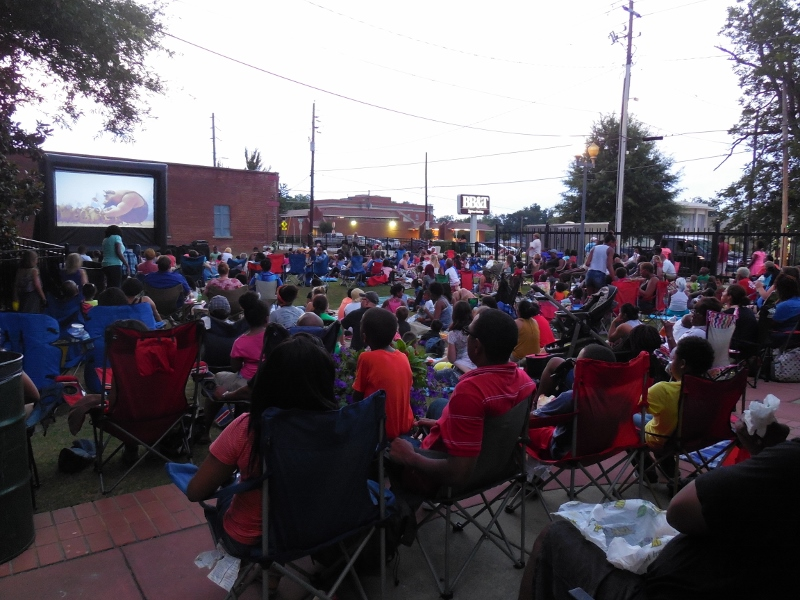 Olde Town Summer Movie Film Series II