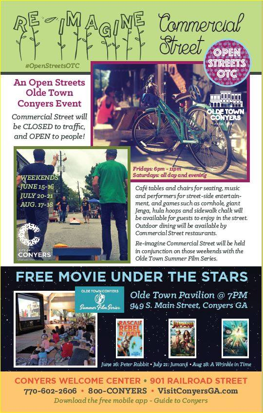 Open Streets - Movie Series ad