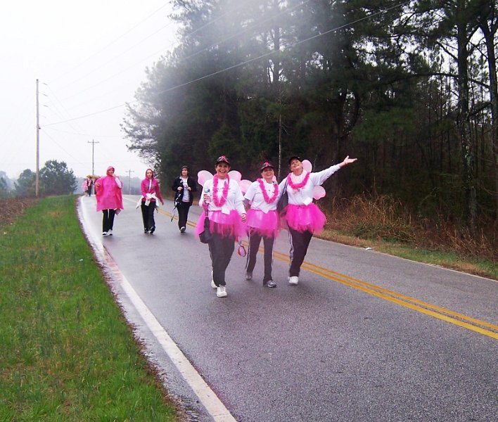 Walk with Angels girls pic