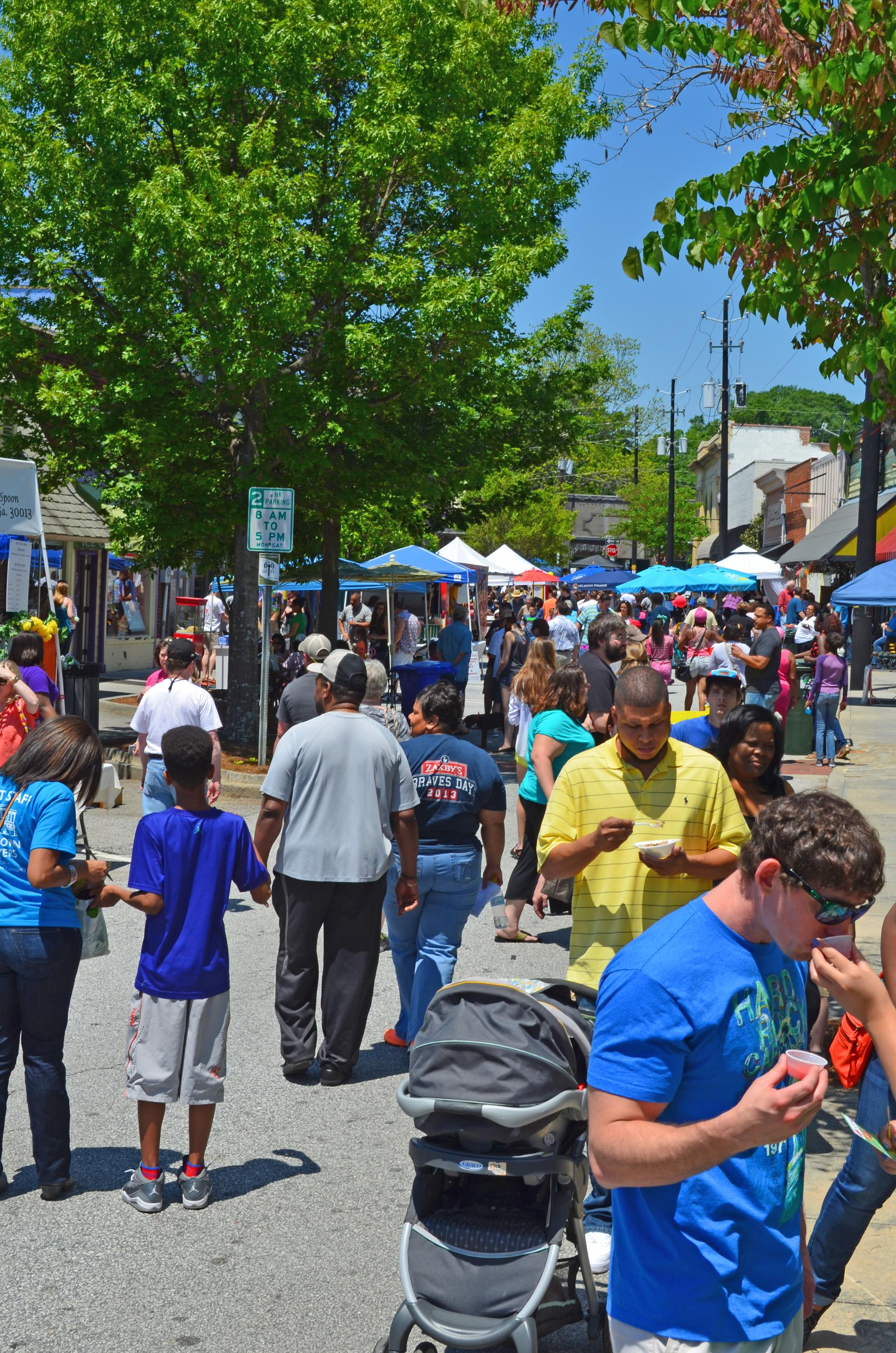 Taste of Conyers 2015 crowd shot