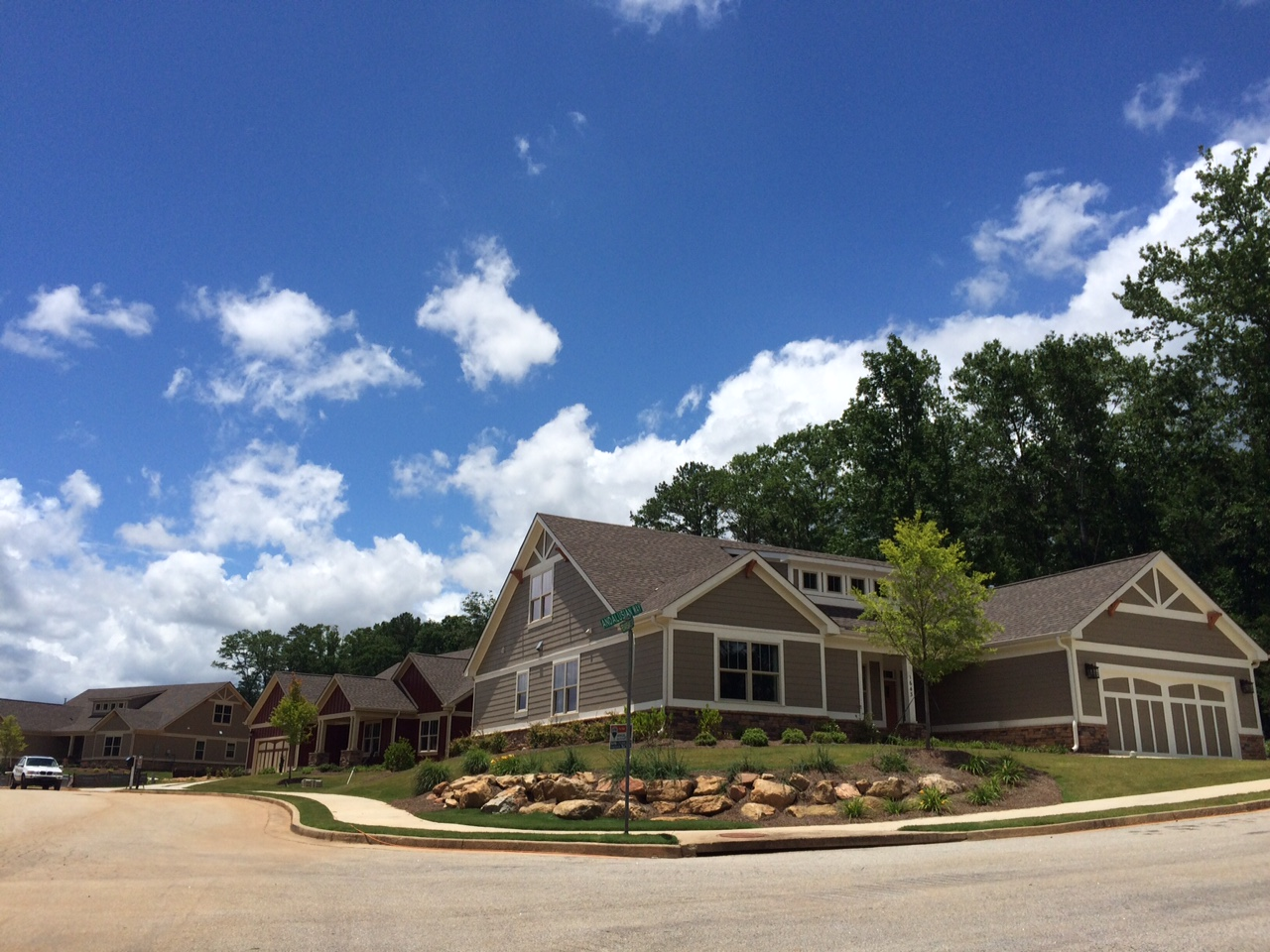Creekside at Conyers homes