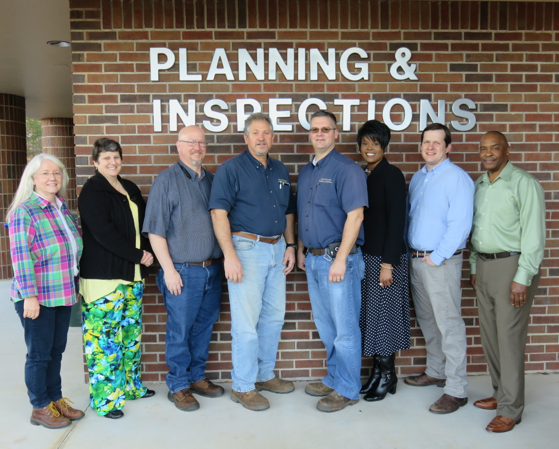 Planning & Inspections Group Photo 1