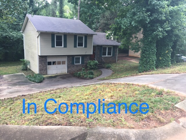 Code Enf_In Compliance house