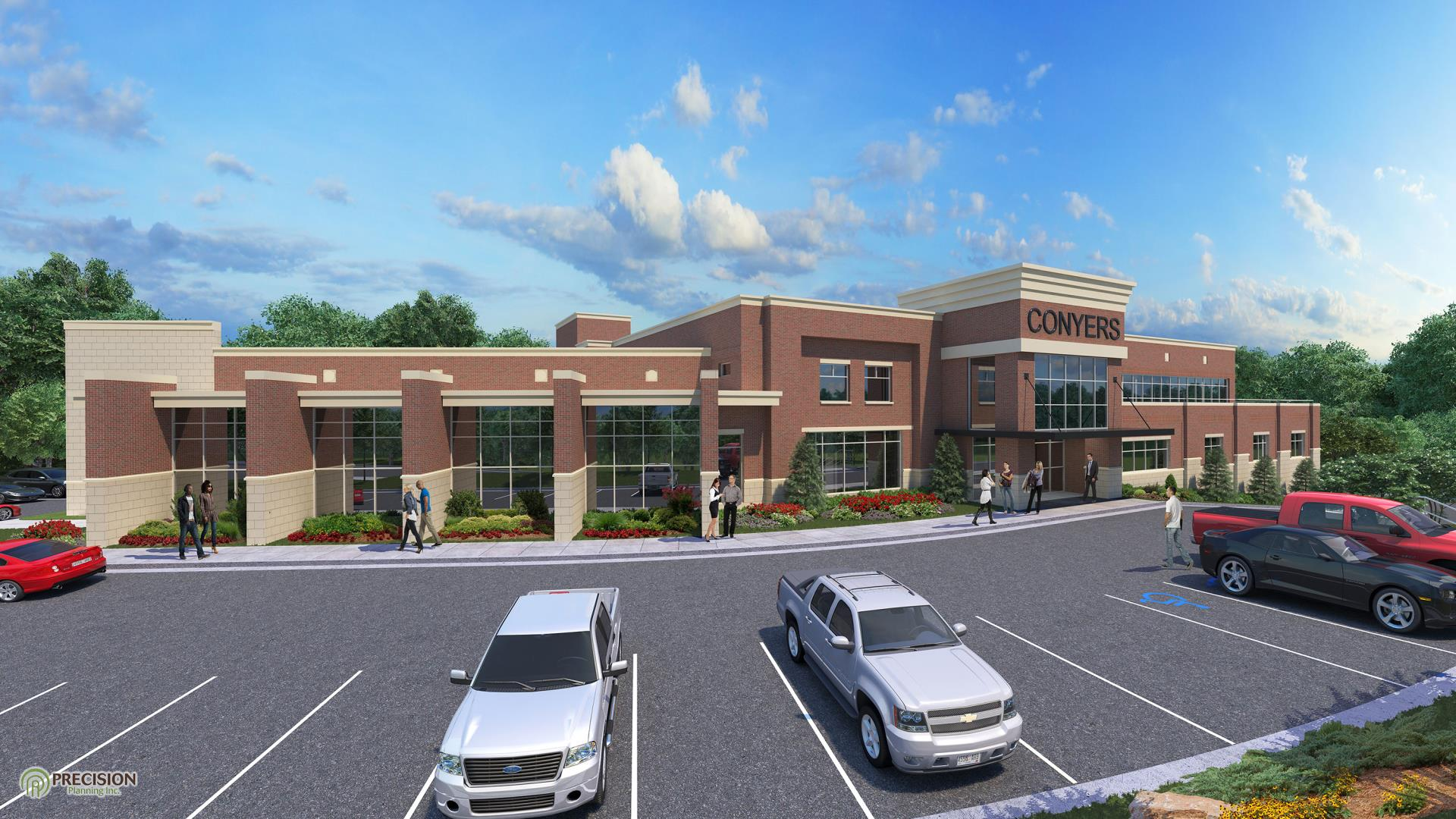 Conyers City Hall rendering_updated July 2019