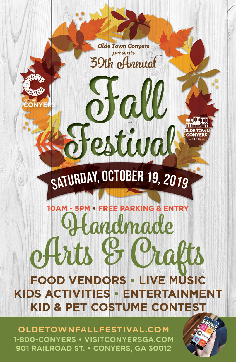 Olde Town Fall Festival | City of Conyers, GA