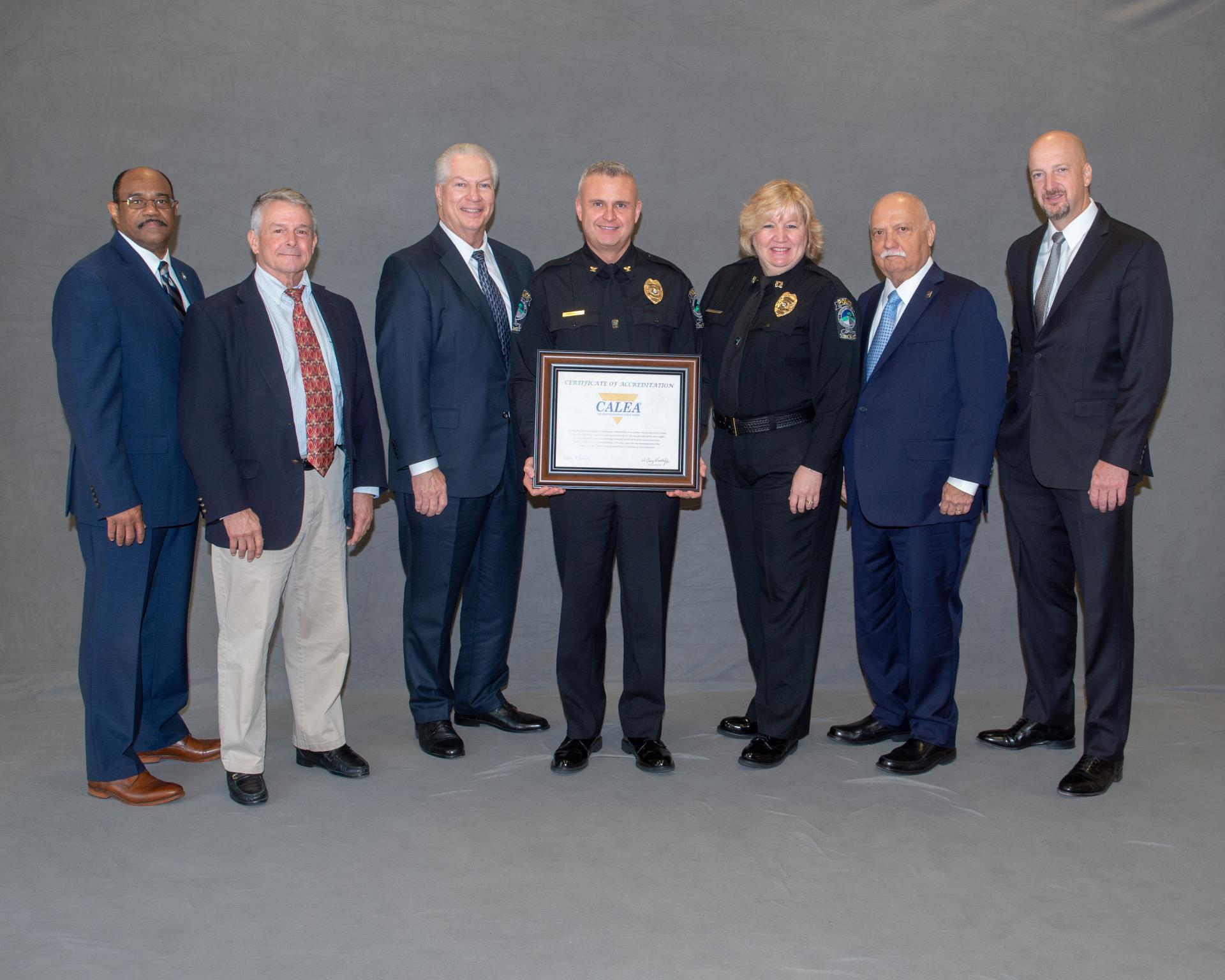 CALEA 2019 Award Photo_Conyers Police
