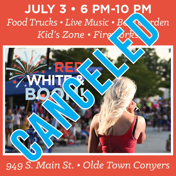 Red, White and Boom Canceled