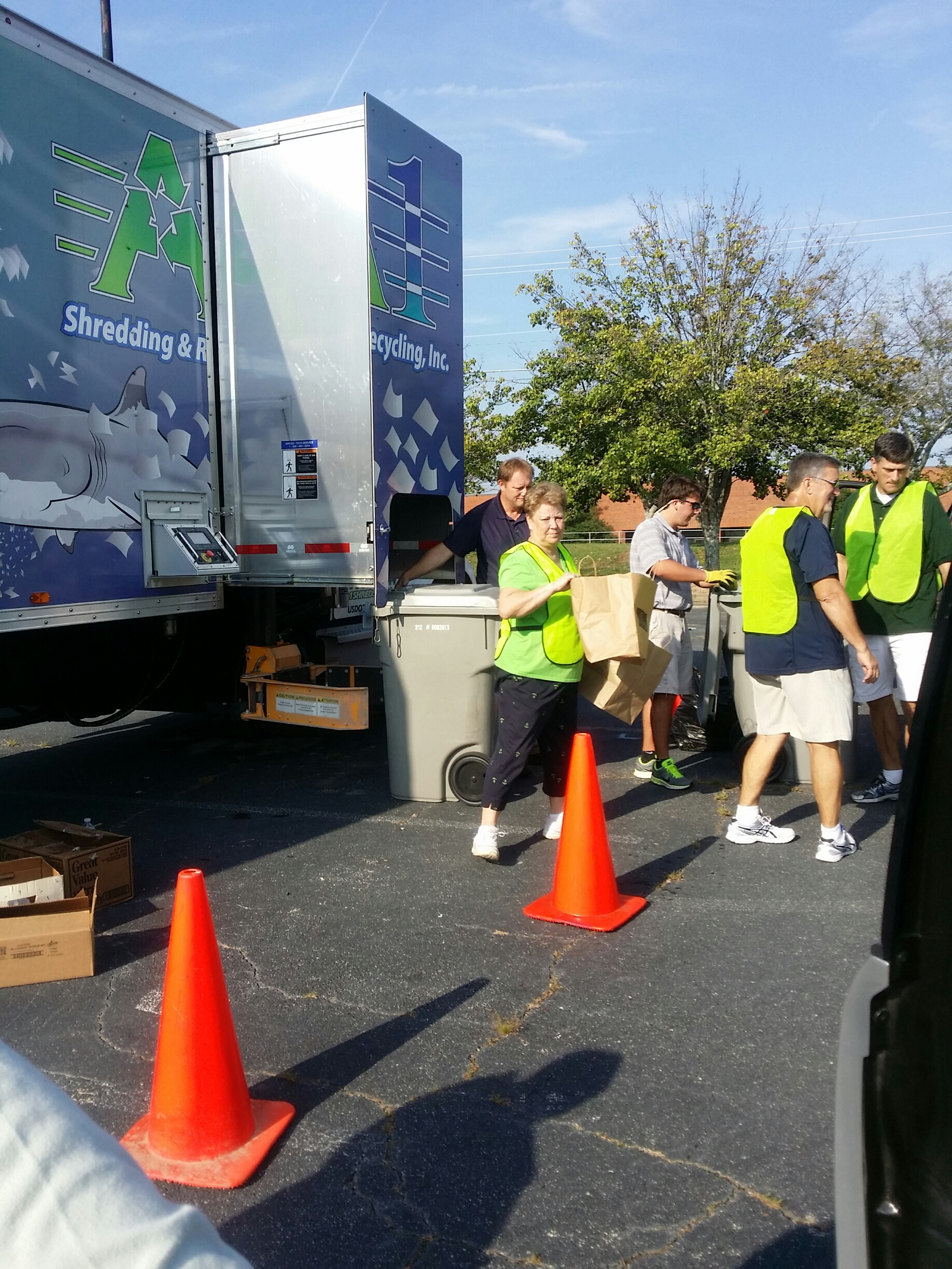 Recycling event 2014